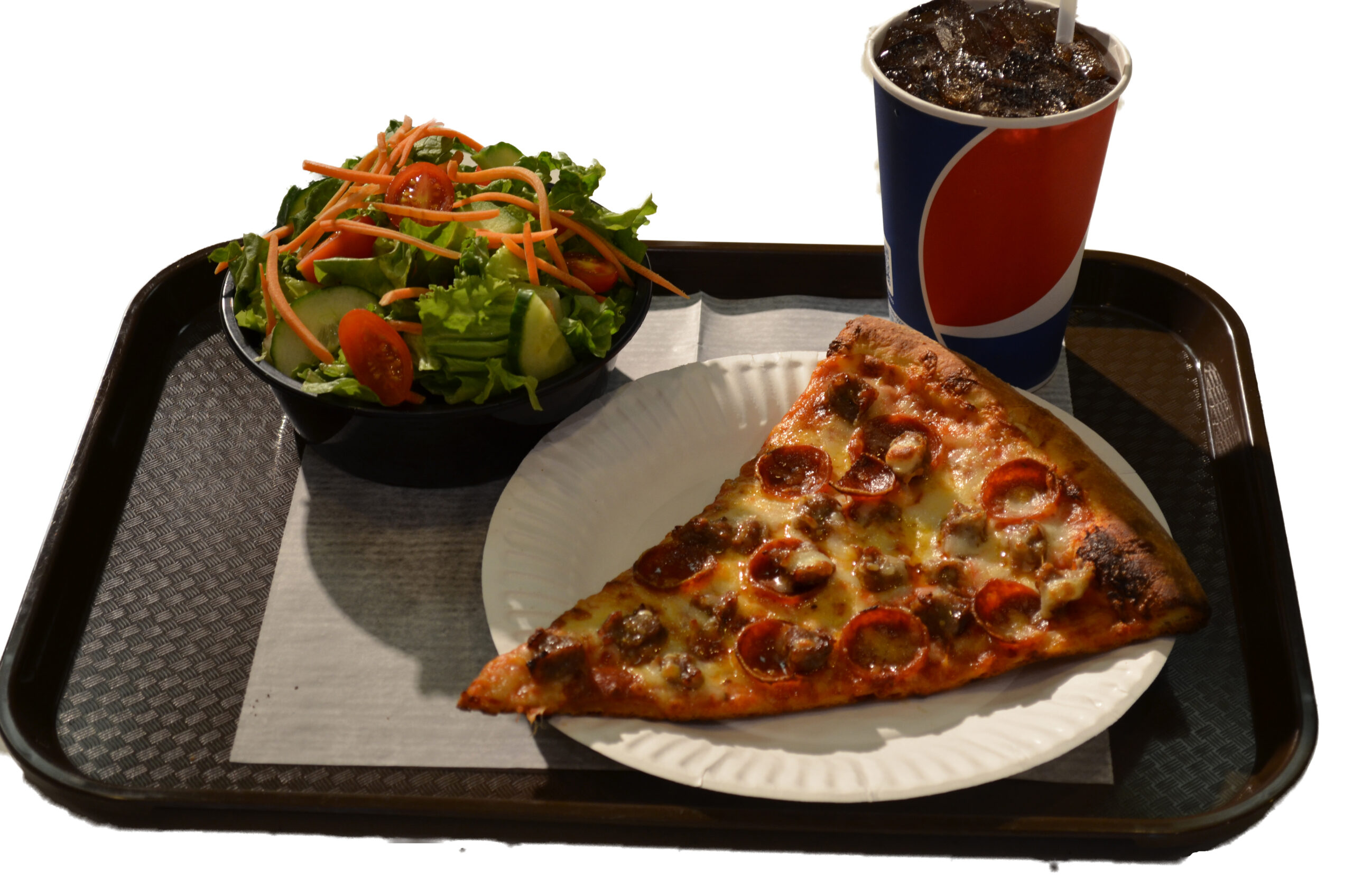 Pizza Slice Lunch Combo